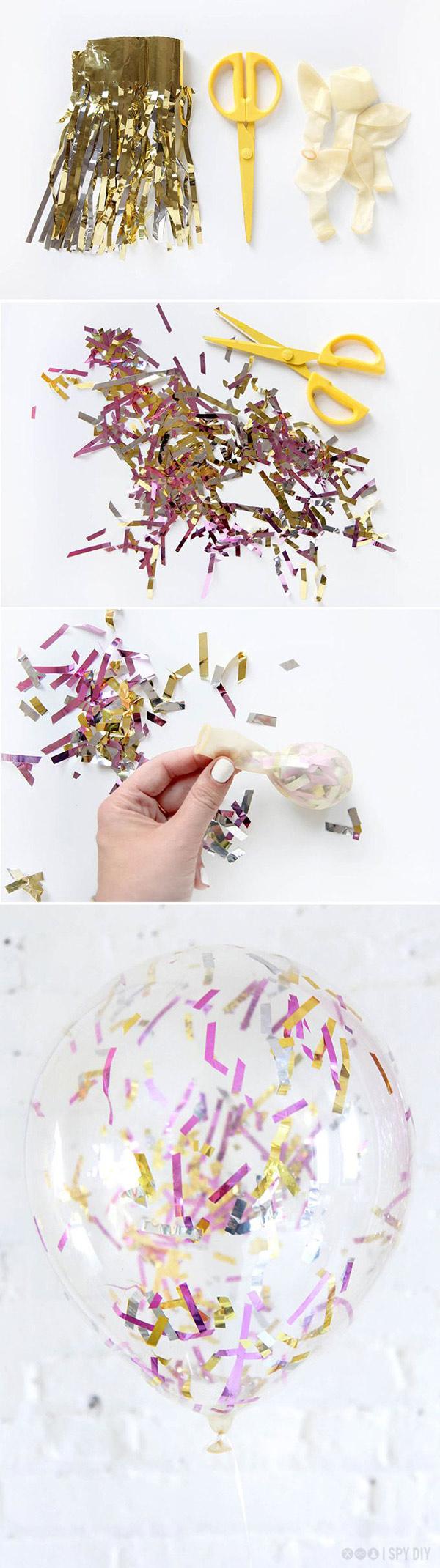 DIY decoracion globos fiestas