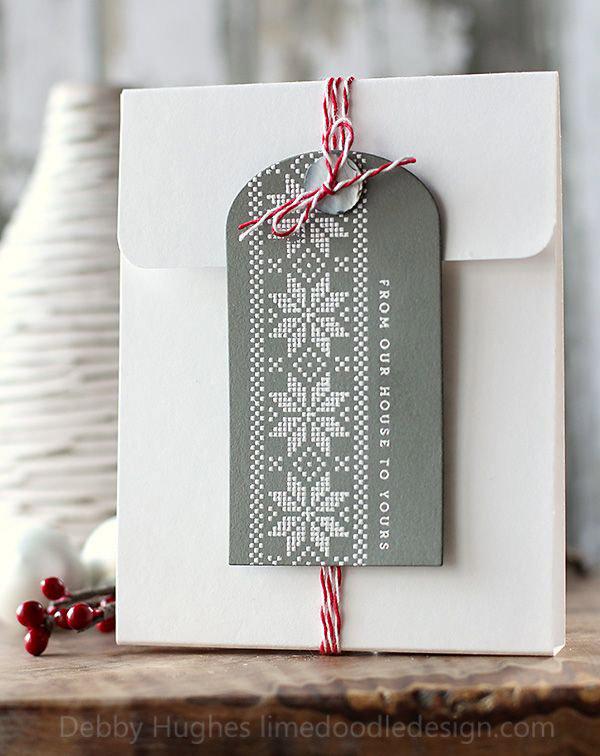 Estilo nordico para regalos de Navidad