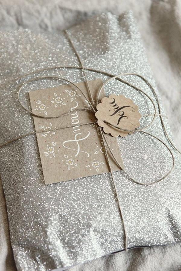Envoltorio estilo nordico regalos navidad