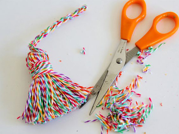 Ideas con bakers twine diy: borlas