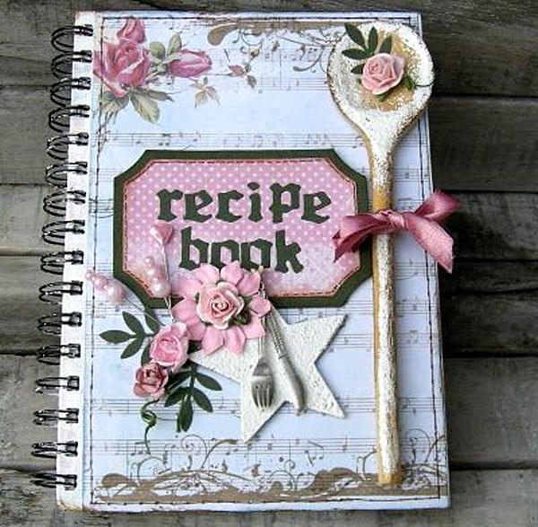 Personalizar cuadernos con scrapbooking