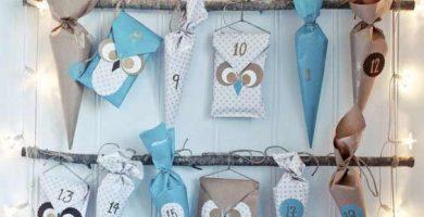 7 calendarios de adviento fáciles y originales para niños