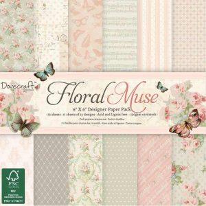 Papel Scrap Floral Muse