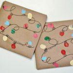 Envoltorio para regalos: Luces de Navidad