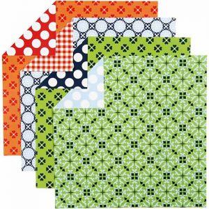 Papel Origami impreso a doble cara