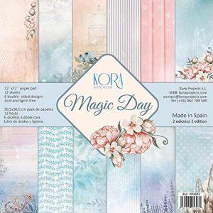 Papel Scrapbook Kora Magic Day