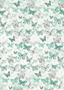 Papel para scrapbooking con mariposas