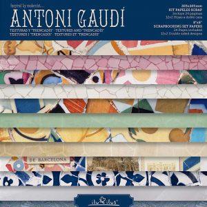 Papel Scrapbooking Gaudi
