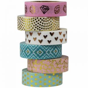 Washi tapes para scrapbooking