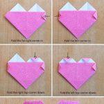 Corazon origami paso a paso