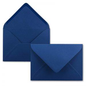 Sobre azul para invitaciones comunion