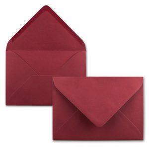Sobres rojos Invitaciones de boda