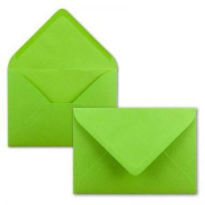 Sobres color verde claro invitaciones