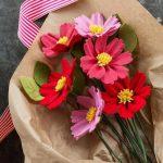 Manualidades con goma eva: flores