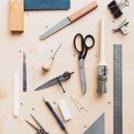 Herramientas para encuadernacion artesanal