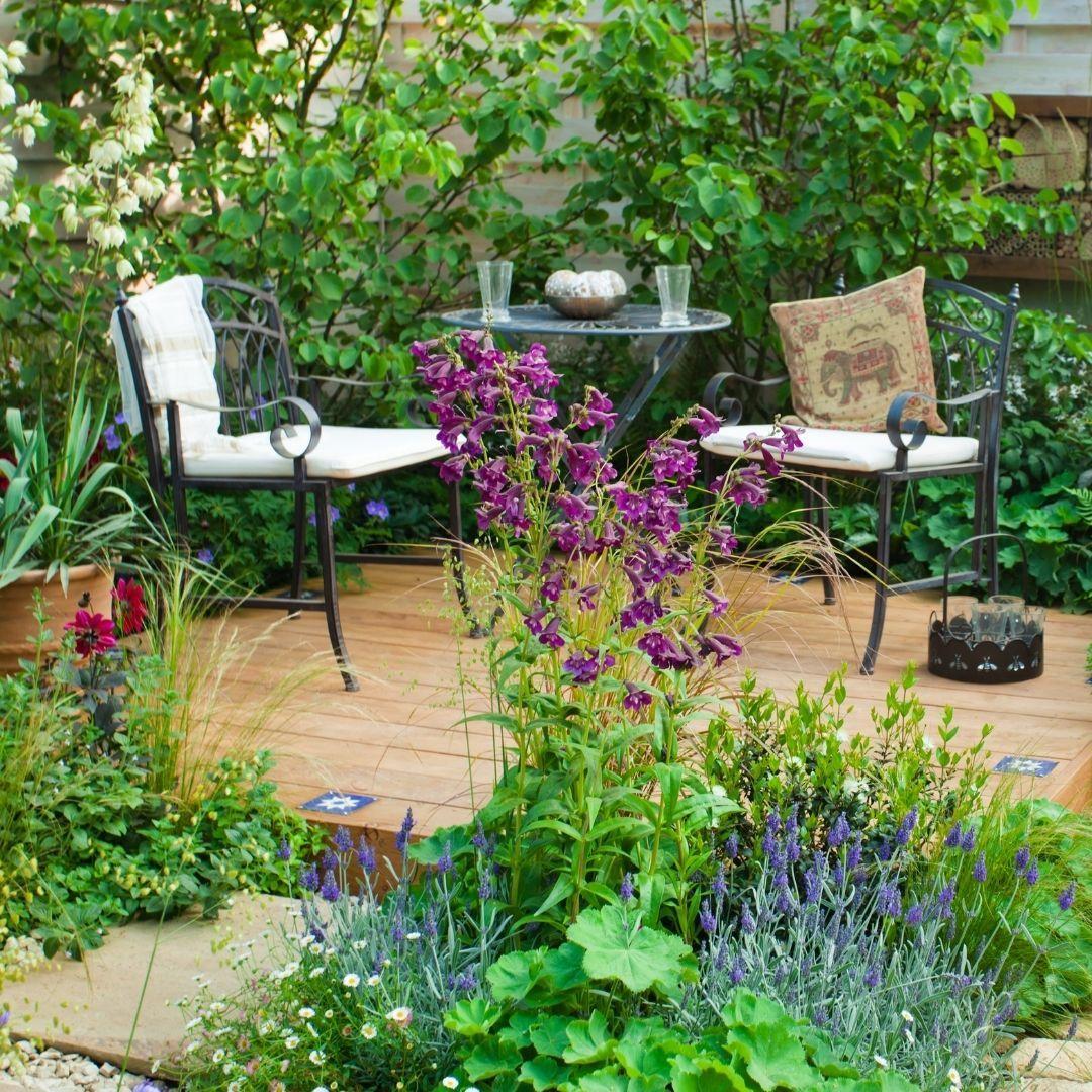 consejos decorar jardin pequeño
