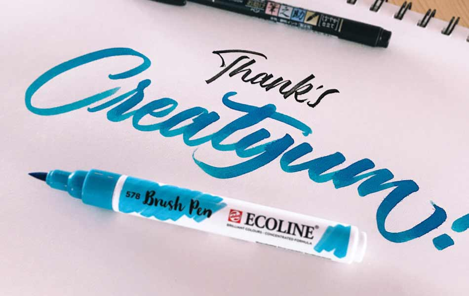 Tecnicas Rotuladores hand lettering