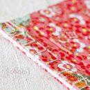 Encuadernación japonesa con cosido Kangxi y papel chiyogami