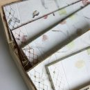Libros artesanos encuadernados con técnica japonesa
