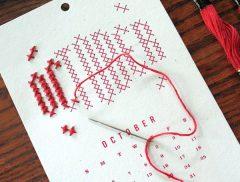Calendarios 2016 DIY