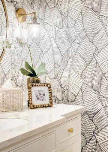 Cómo decorar una habitación con papel pintado