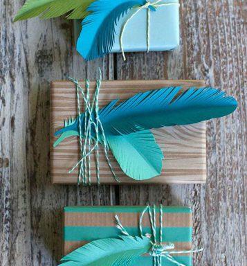 envolver regalos con cuerdas