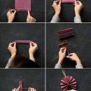 Como hacer abanicos de papel paso a paso