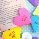 Corazón de origami: Como hacer un corazón de papel paso a paso