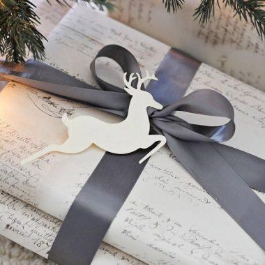 Estilo nordico para envolver tus regalos de Navidad