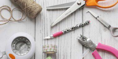Herramientas para scrapbooking y manualidades con papel