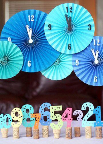 Ideas DIY para celebrar el año nuevo