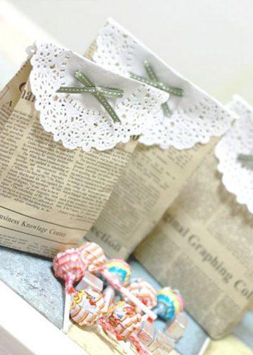 15 ideas para utilizar blondas de papel