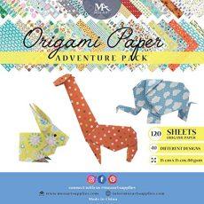 Papel Origami Adventure