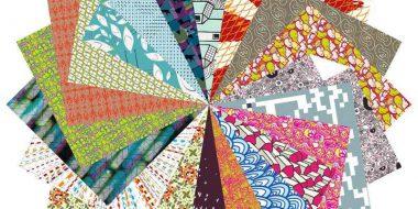 Set papeles origami variados